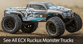 ECX Ruckus RC Monster Truck