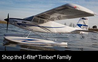 Shop the E-flite Timber Family