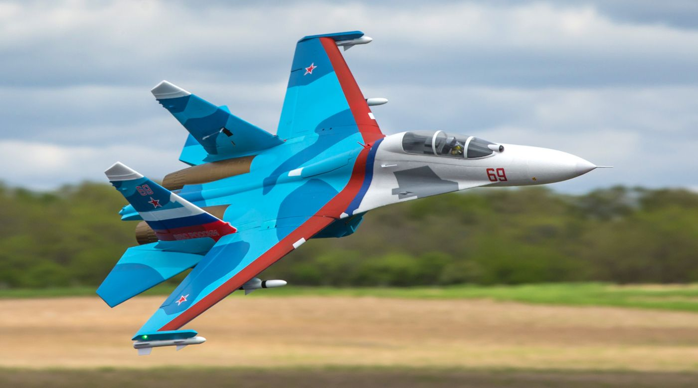Image for SU-30 Twin 70mm EDF BNF Basic with AS3X & SAFE Select, 1100mm from HorizonHobby