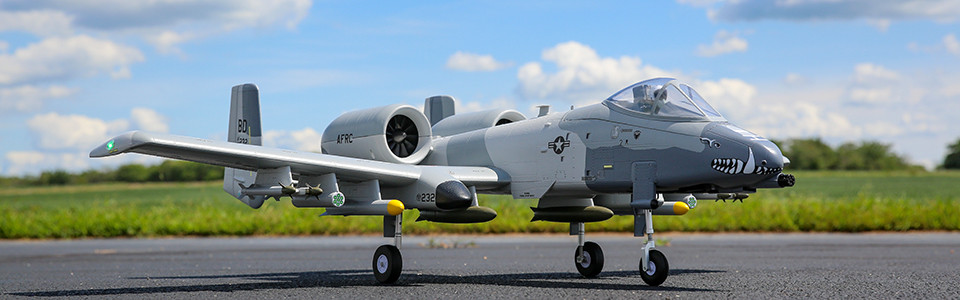 E-flite A-10 Thunderbolt II Twin 64mm EDF