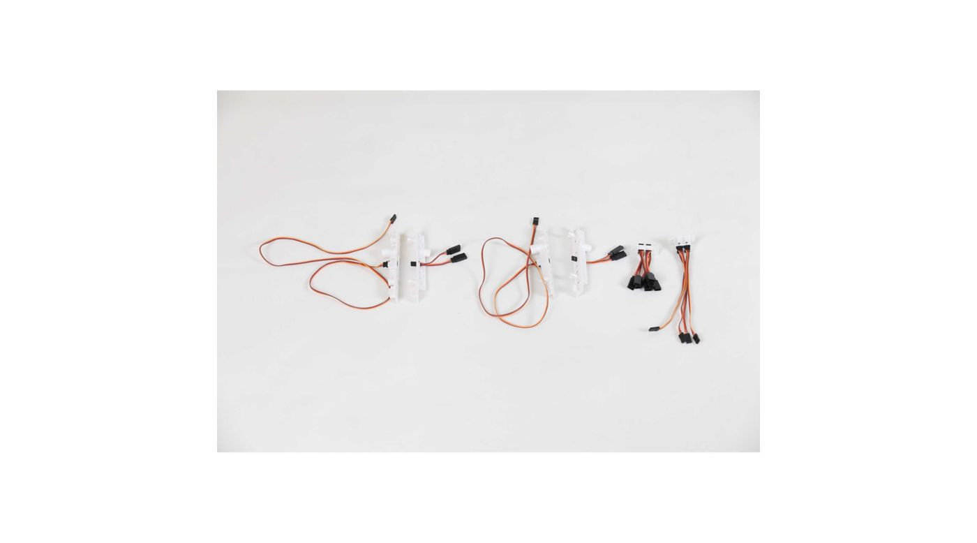 Image for Hands Free Servo Plug Holder Set: P-51D 1.5m Mustang from Horizon Hobby