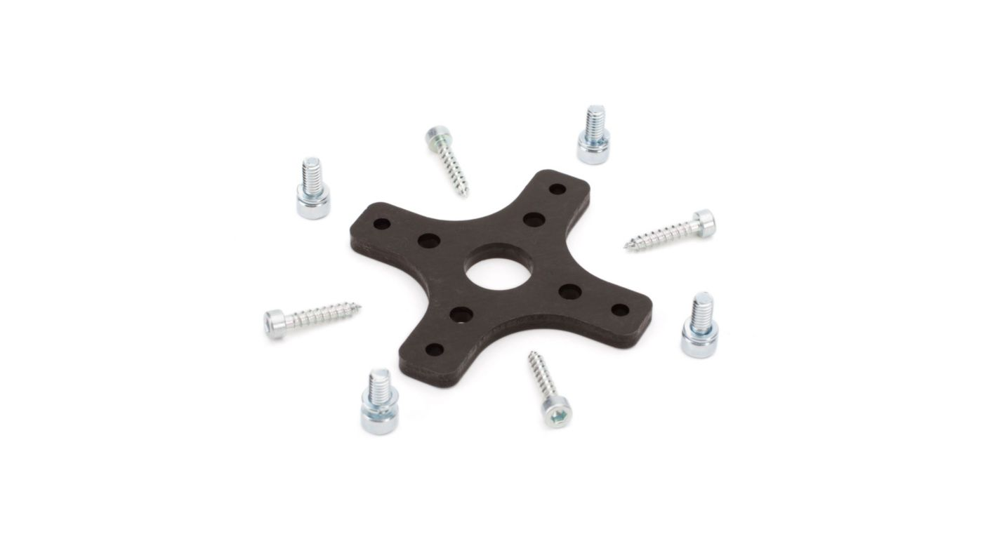 Image for Aluminum Motor Mount Set: C-Z Splendor, C-Z Cub, C-Z Cessna 150 from HorizonHobby