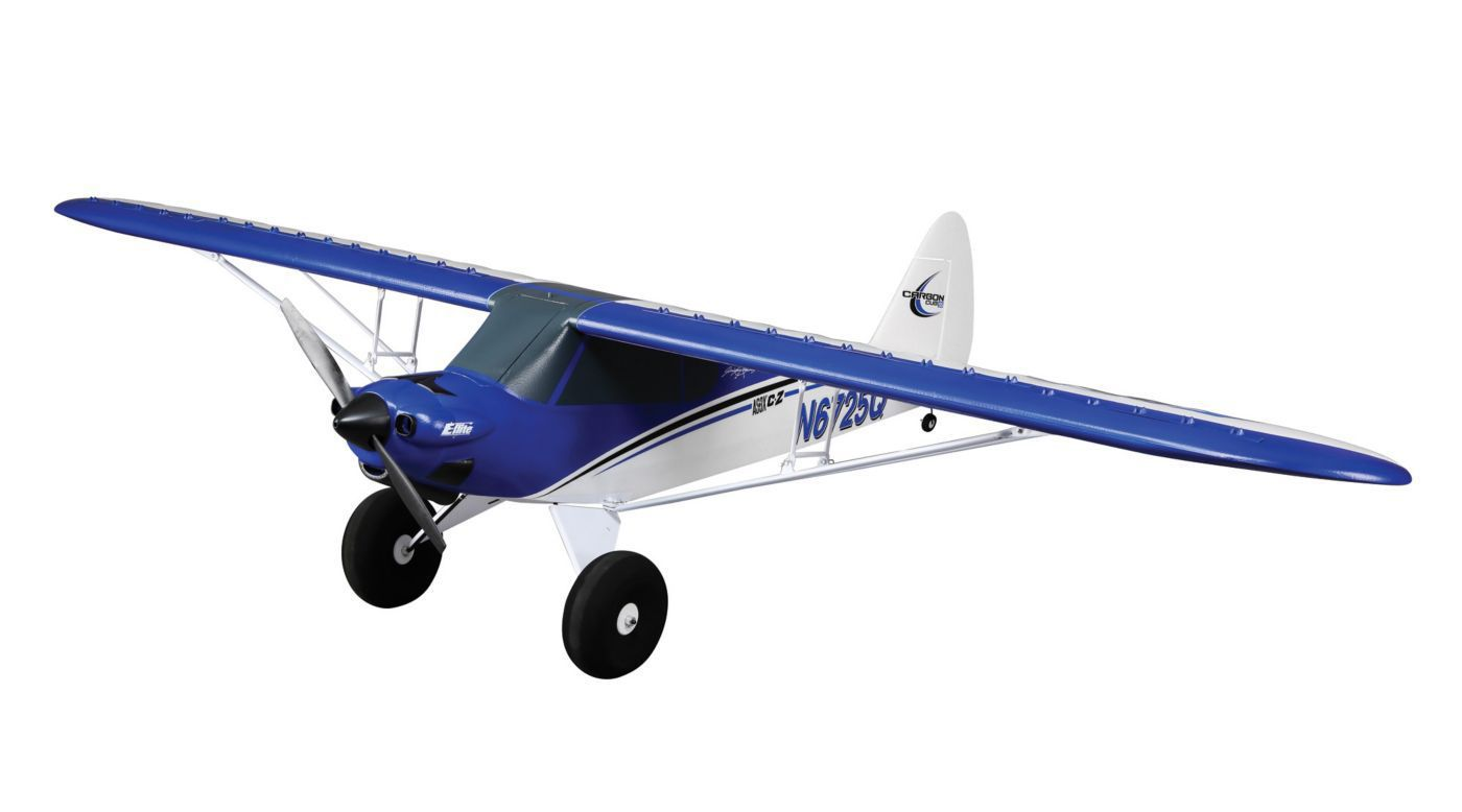 E Flite Carbon Z Cub Pnp Giant Scale Foam Rc Airplane With As3x Cessna Parts Aircraft Accessories 21m