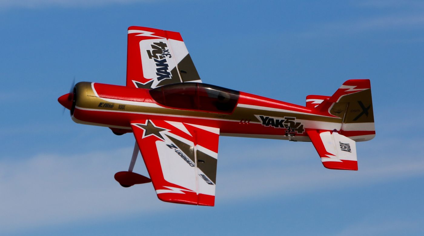 Image for Carbon-Z Yak 54 3X BNF Basic with AS3X Technology from HorizonHobby