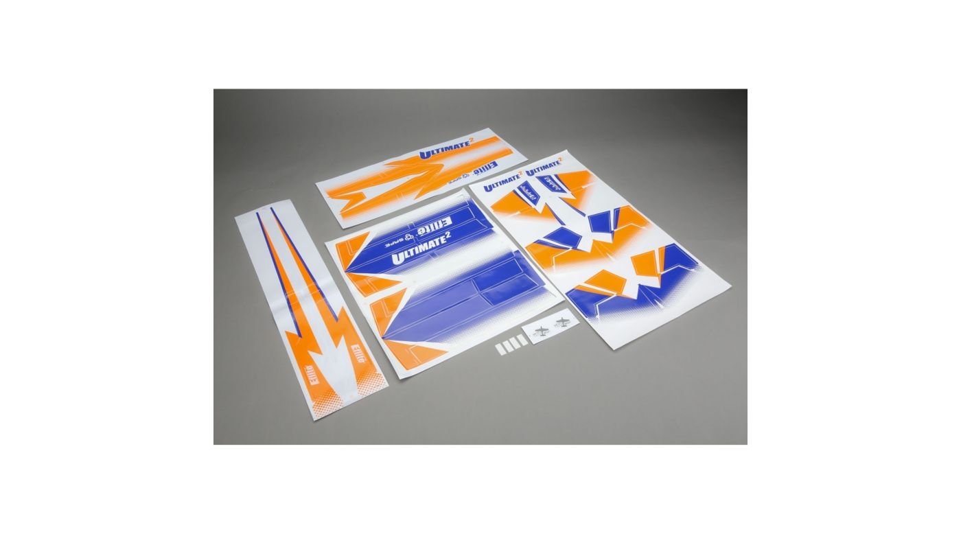 Image for Decal Sheet: Ultimate 2 from HorizonHobby