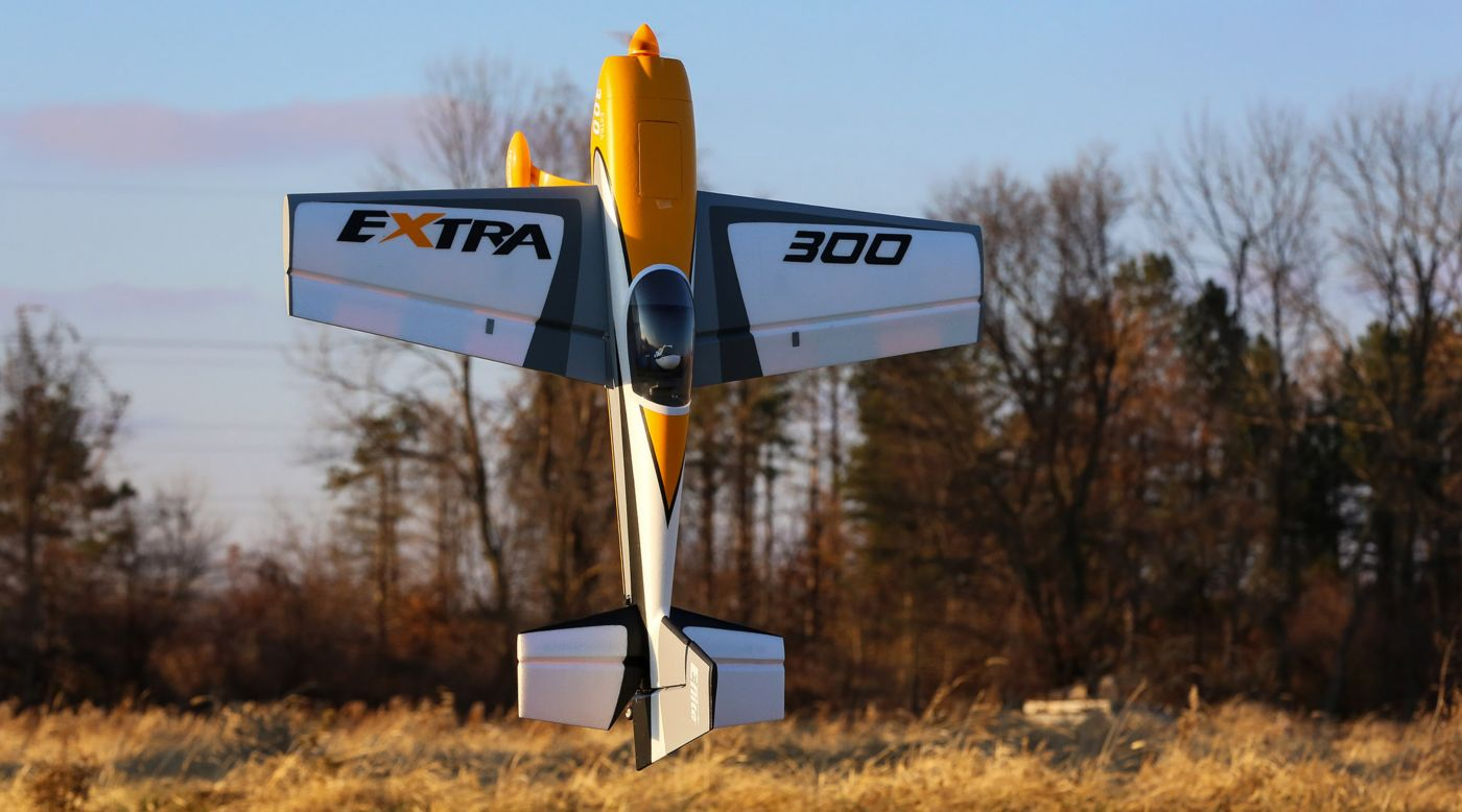 Image for Extra 300 3D 1.3m BNF Basic with AS3X & SAFE Select from HorizonHobby