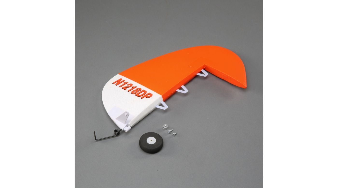 Image for Rudder with Tail Gear: Carbon-Z Cub SS 2m from HorizonHobby