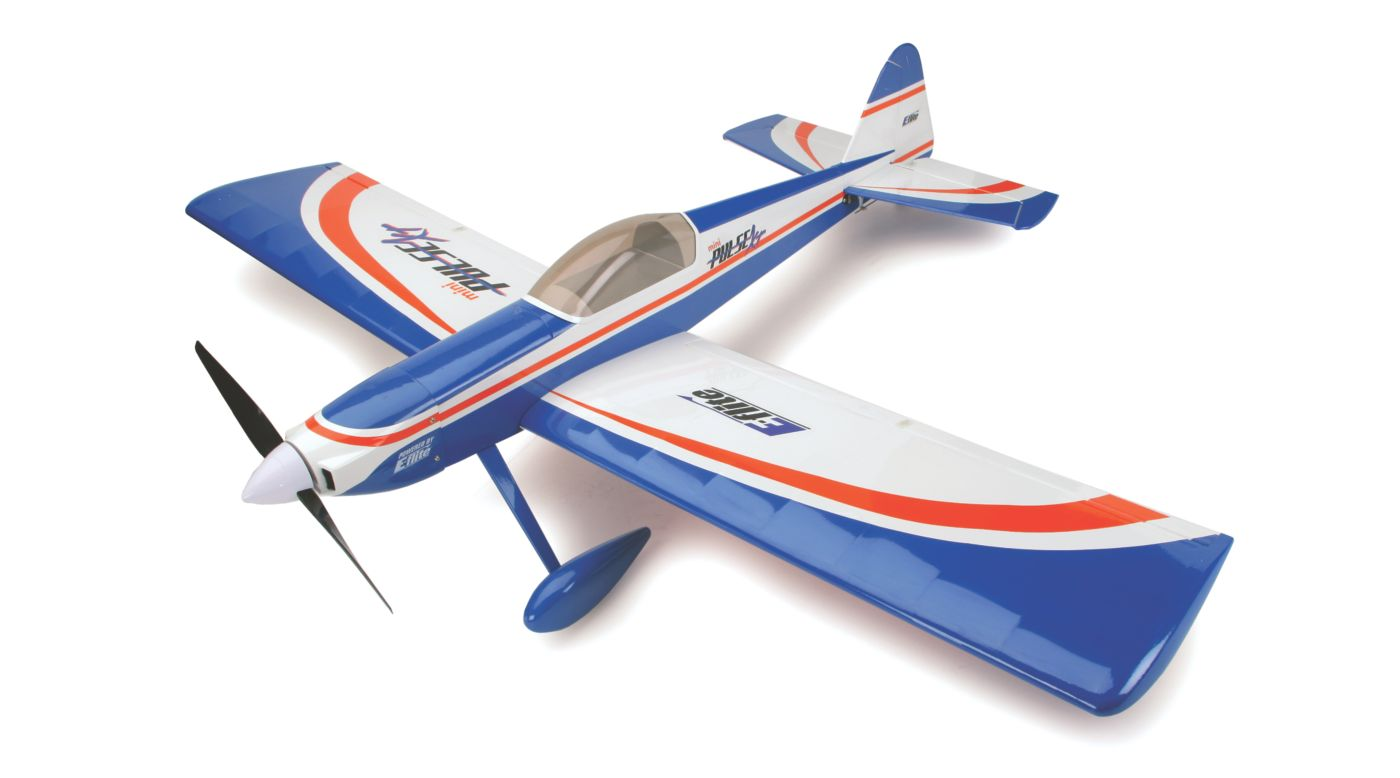 E Flite Mini Pulse Xt Arf Airplane Horizon Hobby