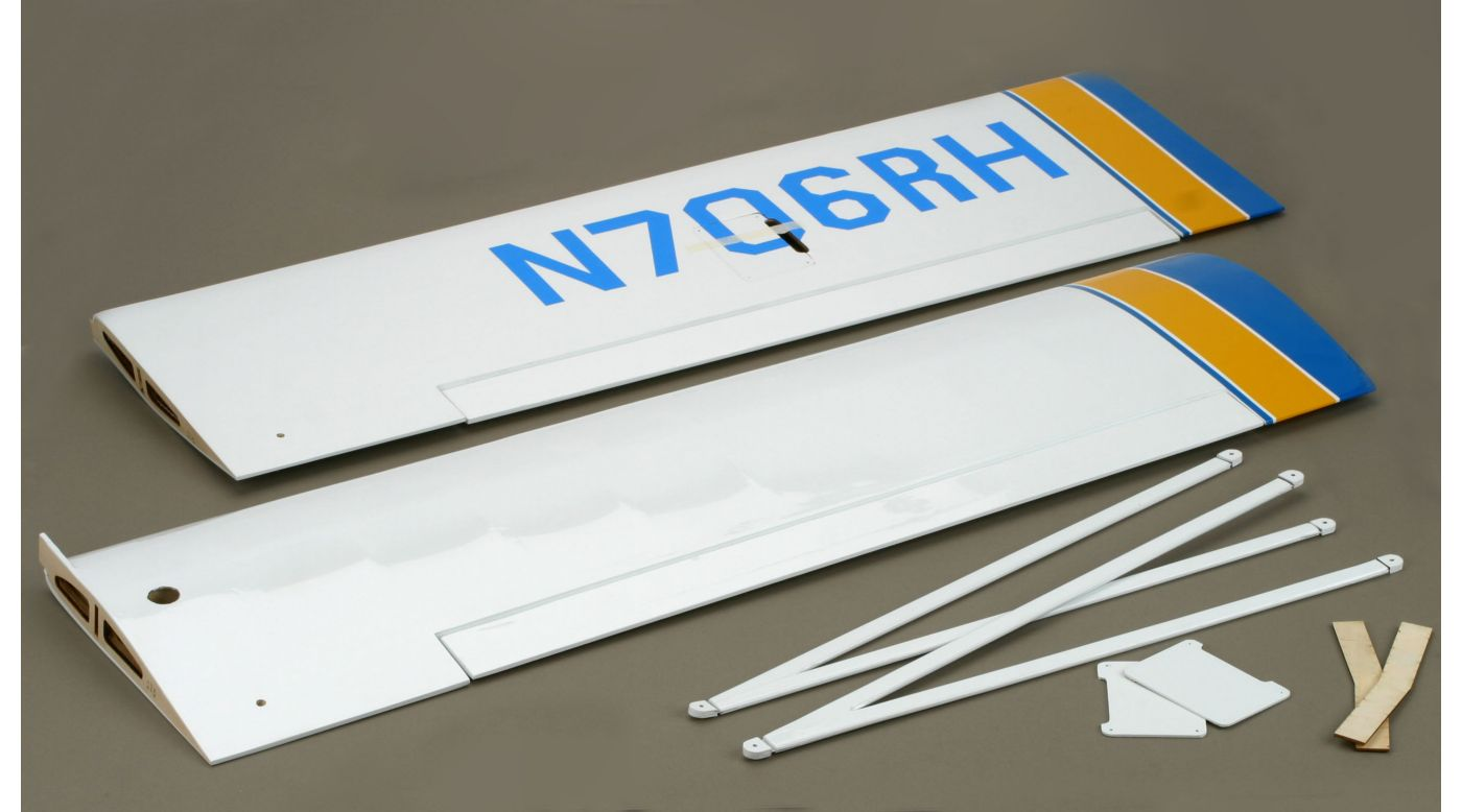 Image for Wing Set with Struts: Pawnee 15e from HorizonHobby