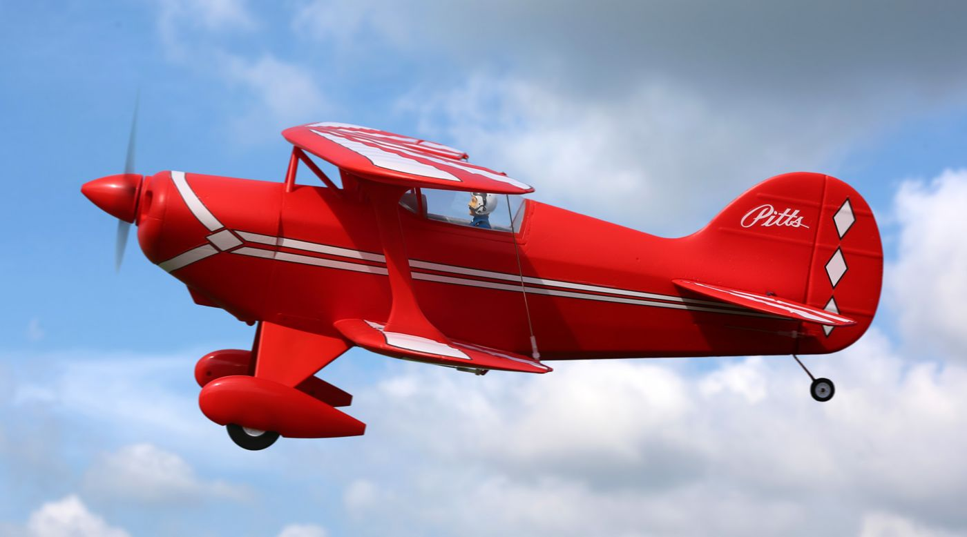 Image for Pitts S-1S 850mm BNF Basic with AS3X and SAFE Select from Horizon Hobby