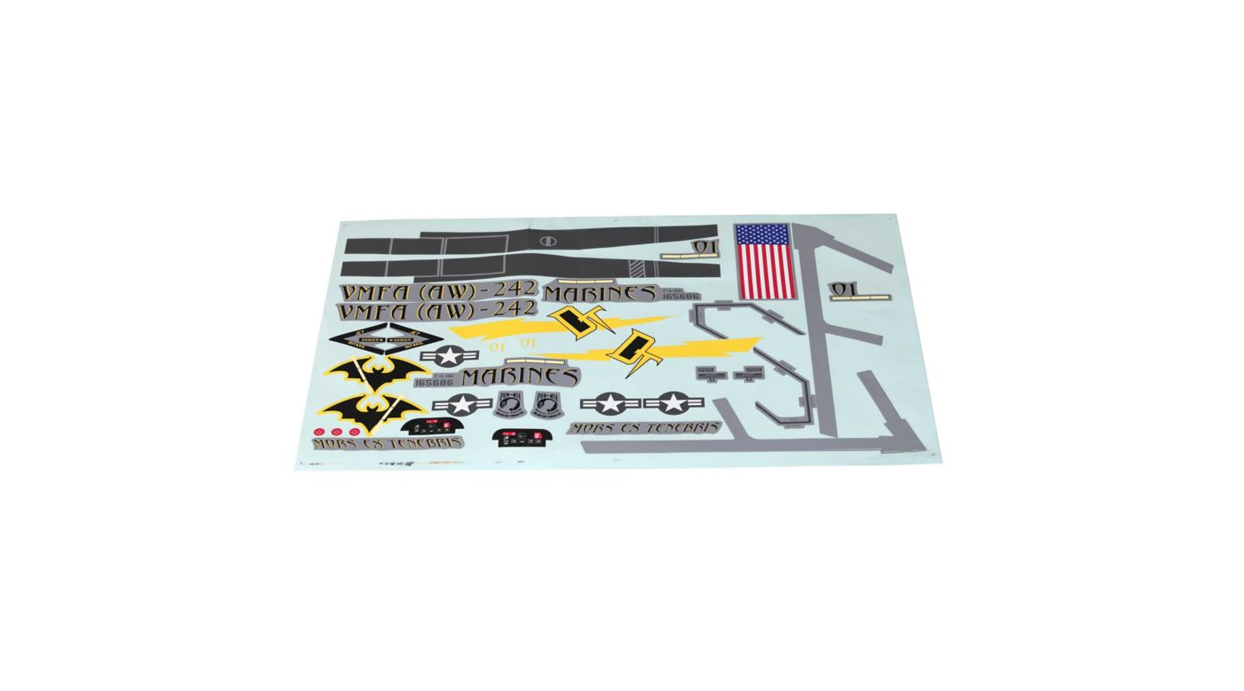 Image for Decals: F-18 80mm EDF from HorizonHobby