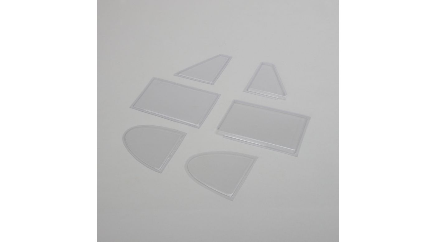 Image for Window Set: Super Cub 25e from HorizonHobby