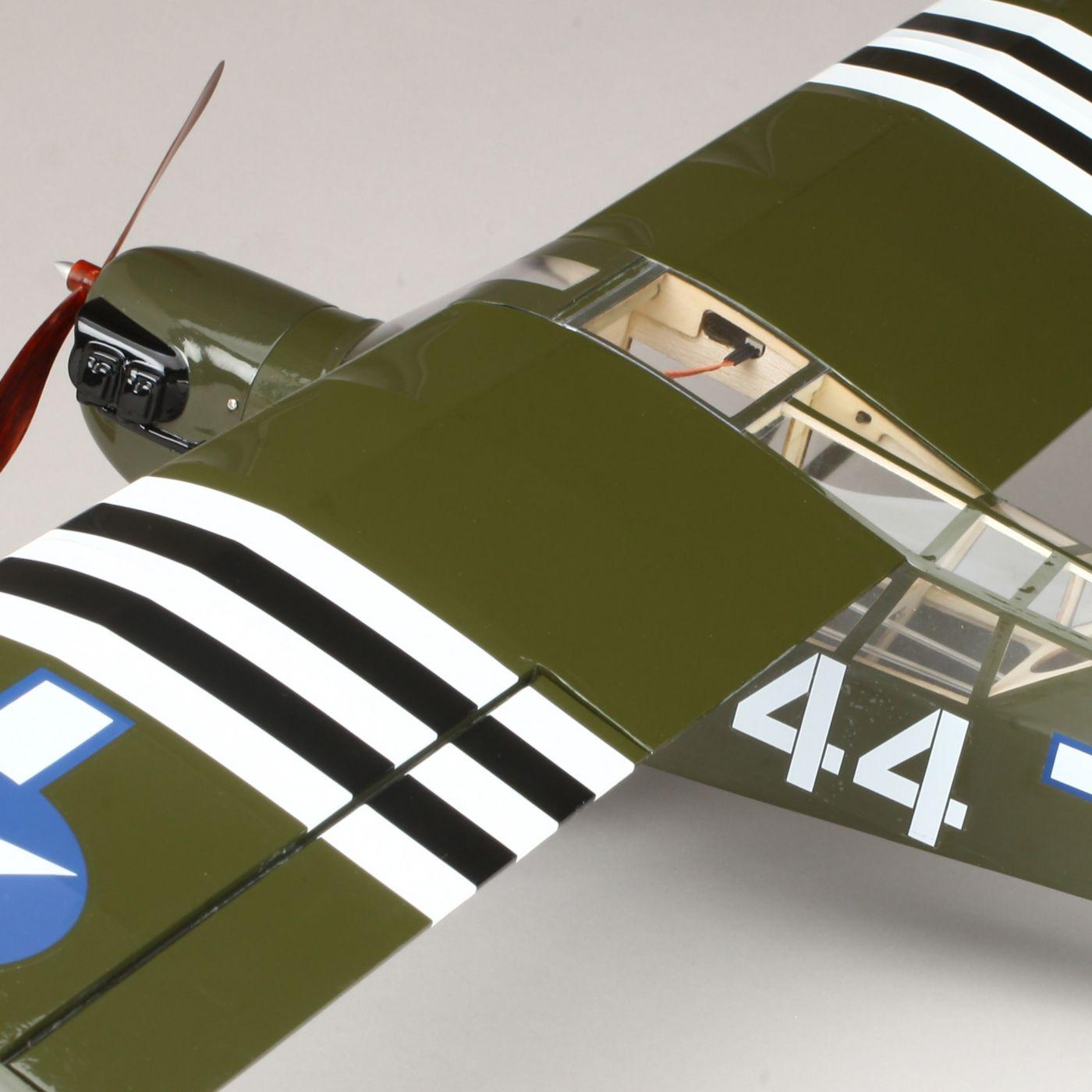 E-flite Piper L-4 Grasshopper 250 ARF Airplane | Horizon Hobby