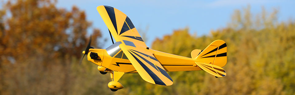 E-flite Clipped Cub PNP Airplane