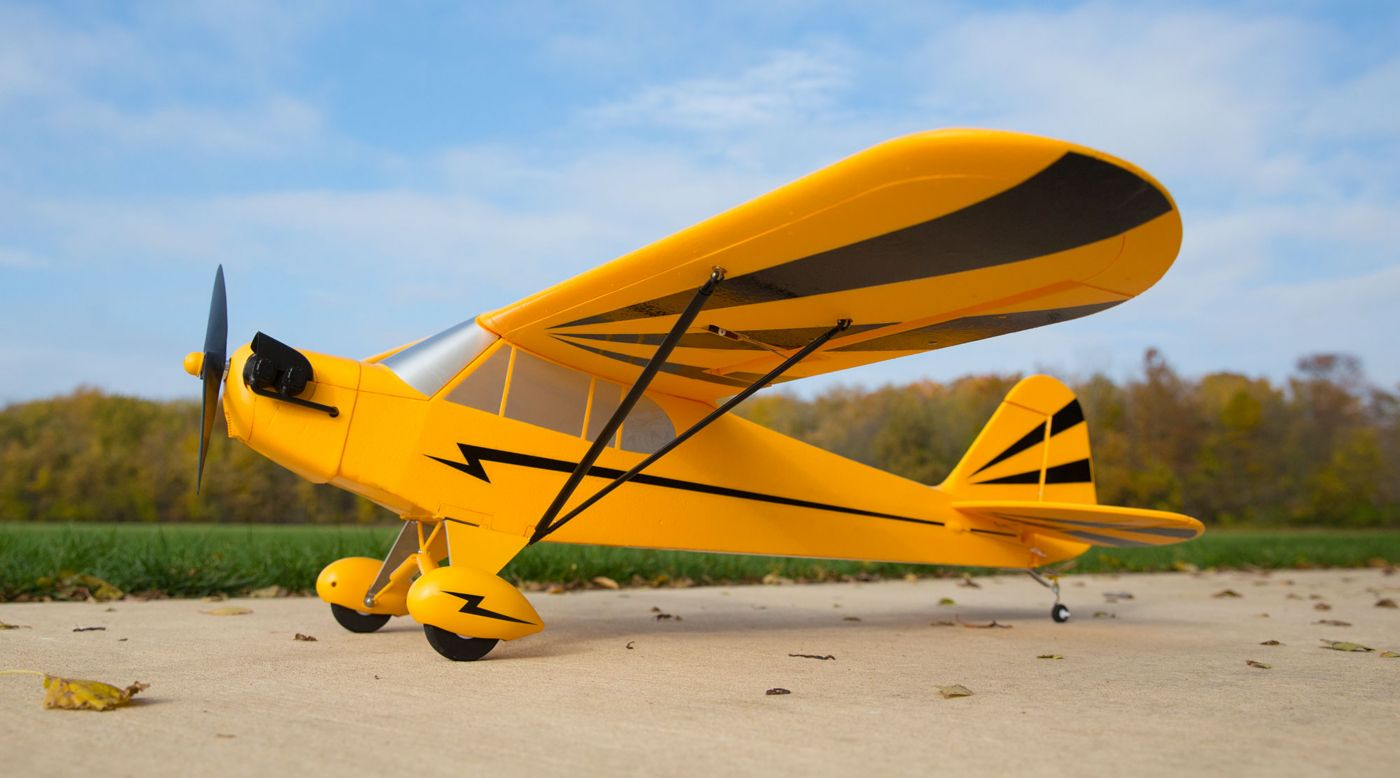 Image for Clipped Wing Cub 1.2m BNF Basic with AS3X and SAFE from HorizonHobby