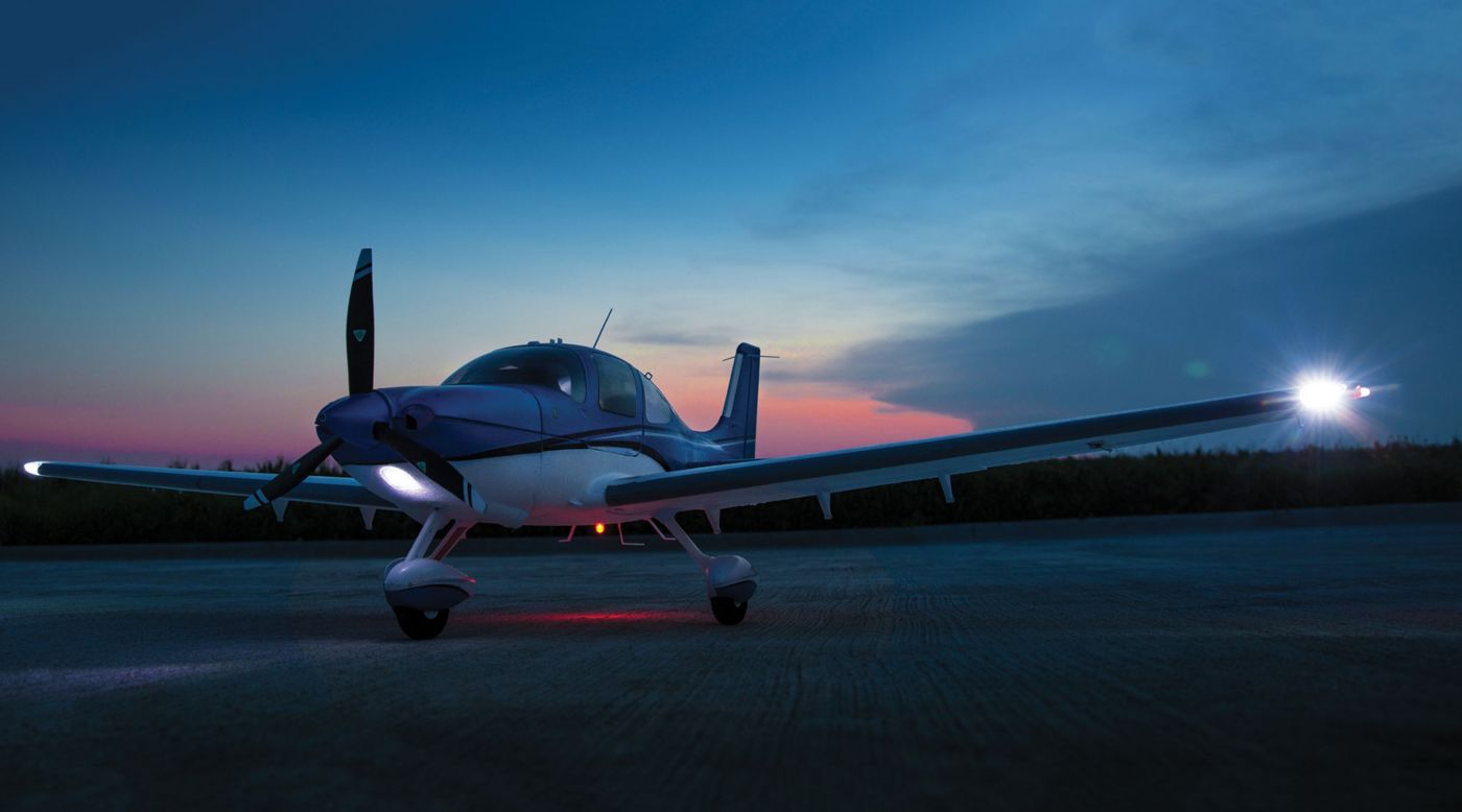 Image for Cirrus SR22T 1.5m BNF Basic from HorizonHobby