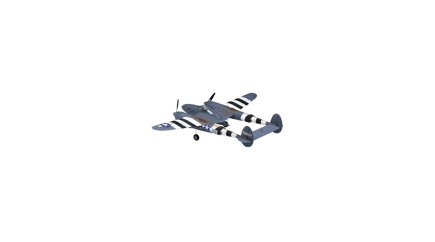 Image for P-38/F-5E Lightning 400 ARF from HorizonHobby