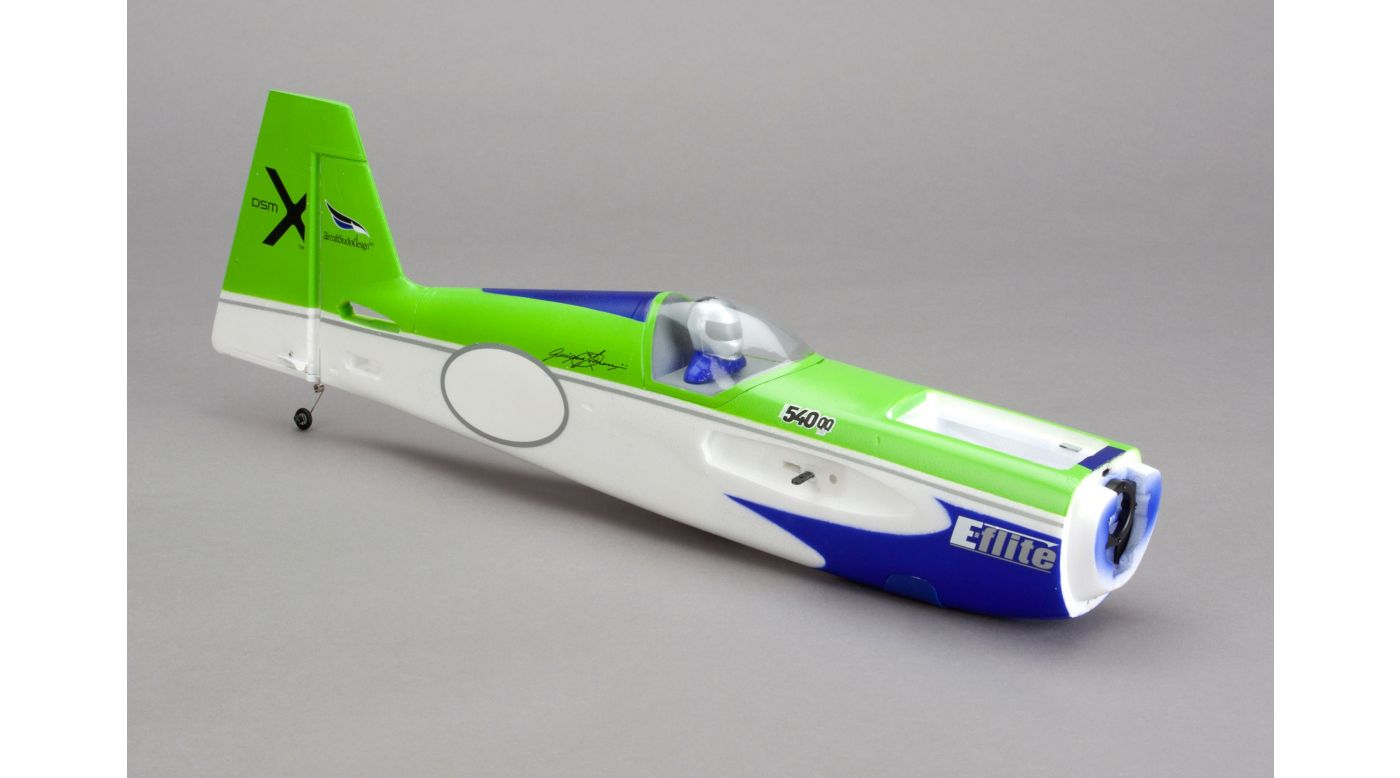 Image for Fuselage with Rudder: Edge 540QQ 280 from HorizonHobby
