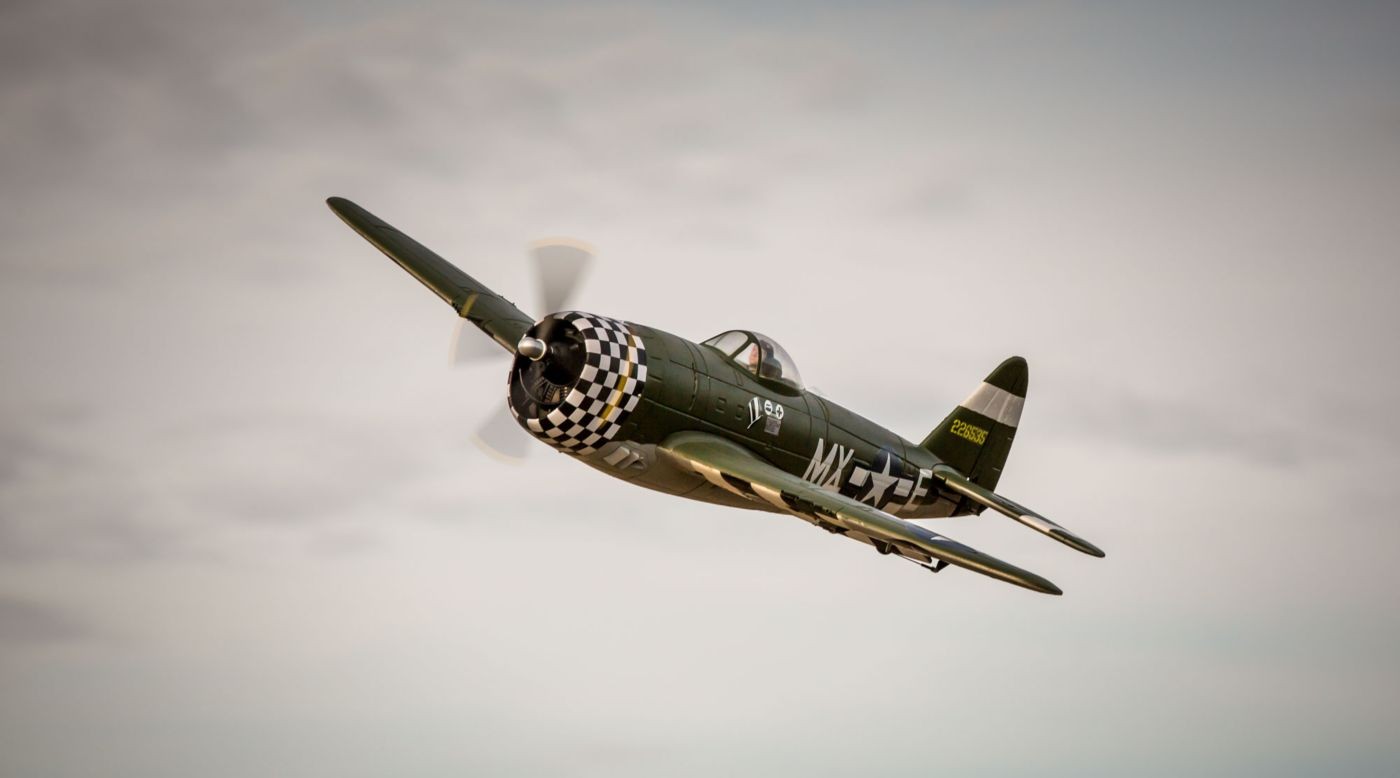 Image for P-47D Thunderbolt PNP from HorizonHobby