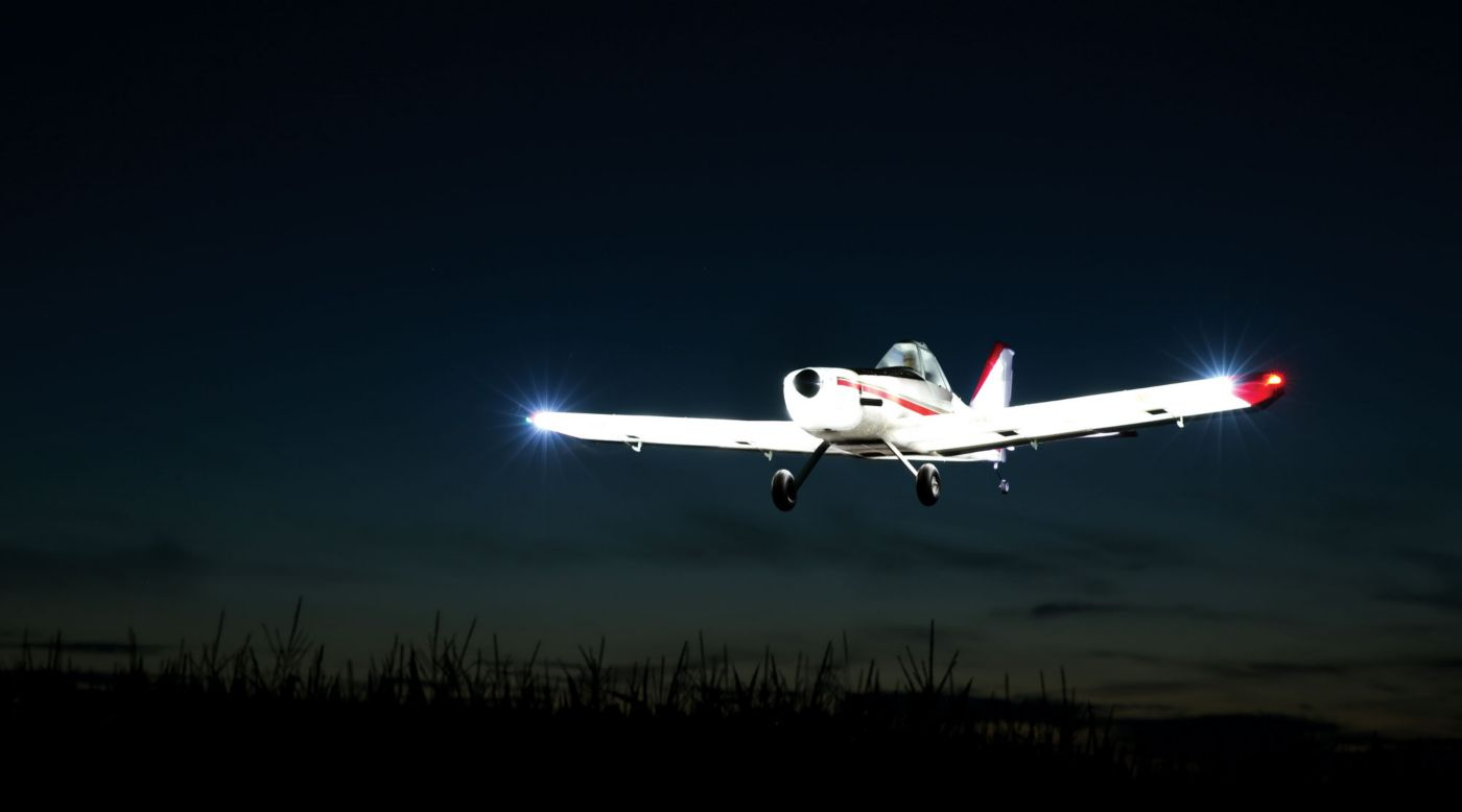 Image for Brave Night Flyer 1.2m BNF Basic with AS3X from HorizonHobby