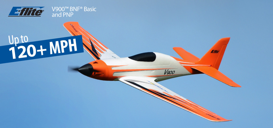E-flite V900 BNF Basic RC Airplane