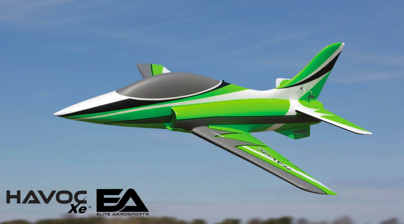 Image for HAVOC Xe 80mm EDF Sport Jet PNP from HorizonHobby