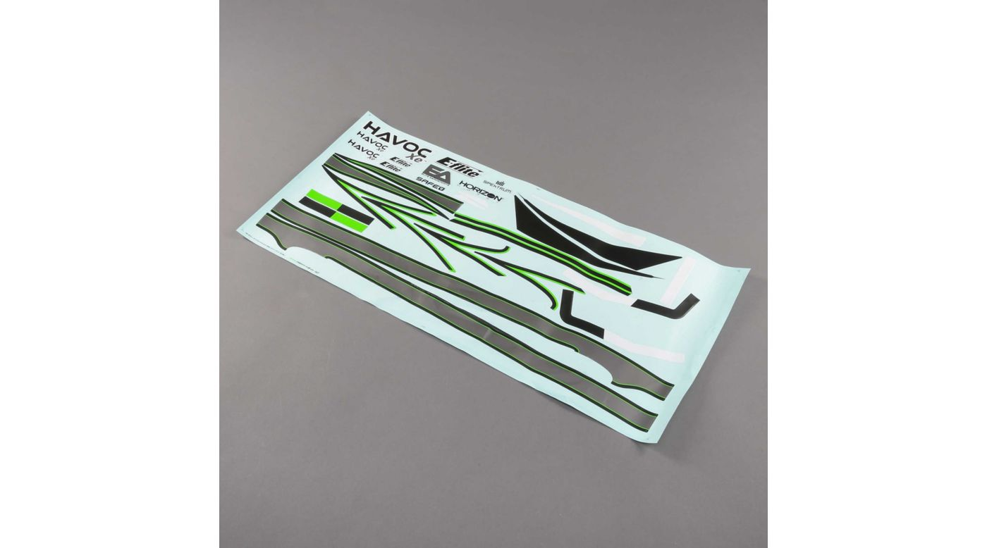 Image for Decal Set: HAVOC Xe 80mm EDF Sport Jet from HorizonHobby