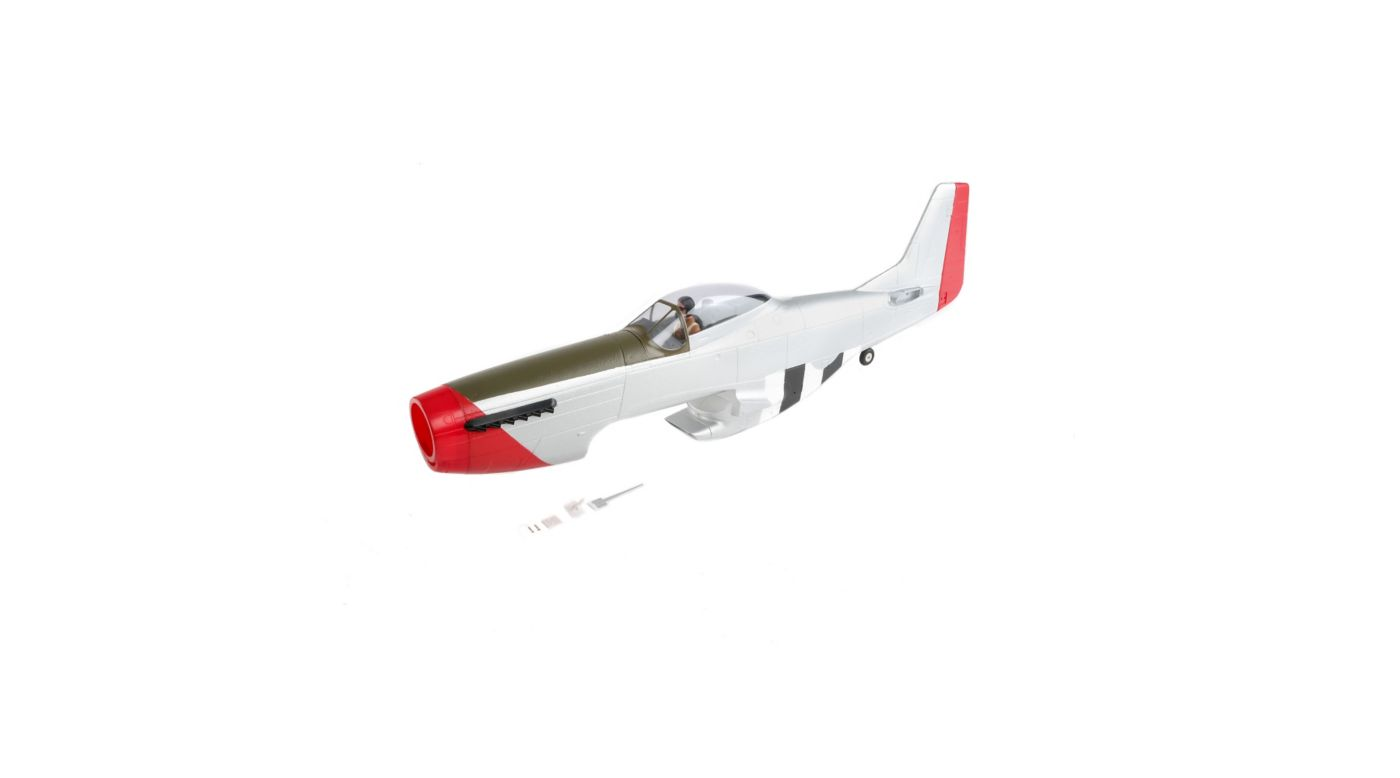 Image for Painted Fuselage with Hatch: P-51D 1.2m from HorizonHobby