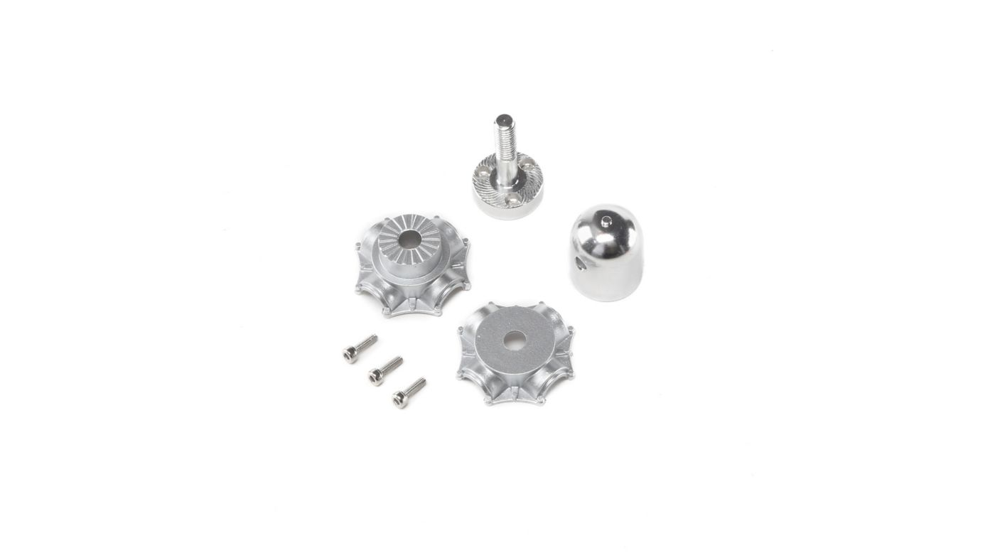 Image for Prop Adapter, Aluminm Spinner, Plastic Hub: P-47 1.2m from HorizonHobby