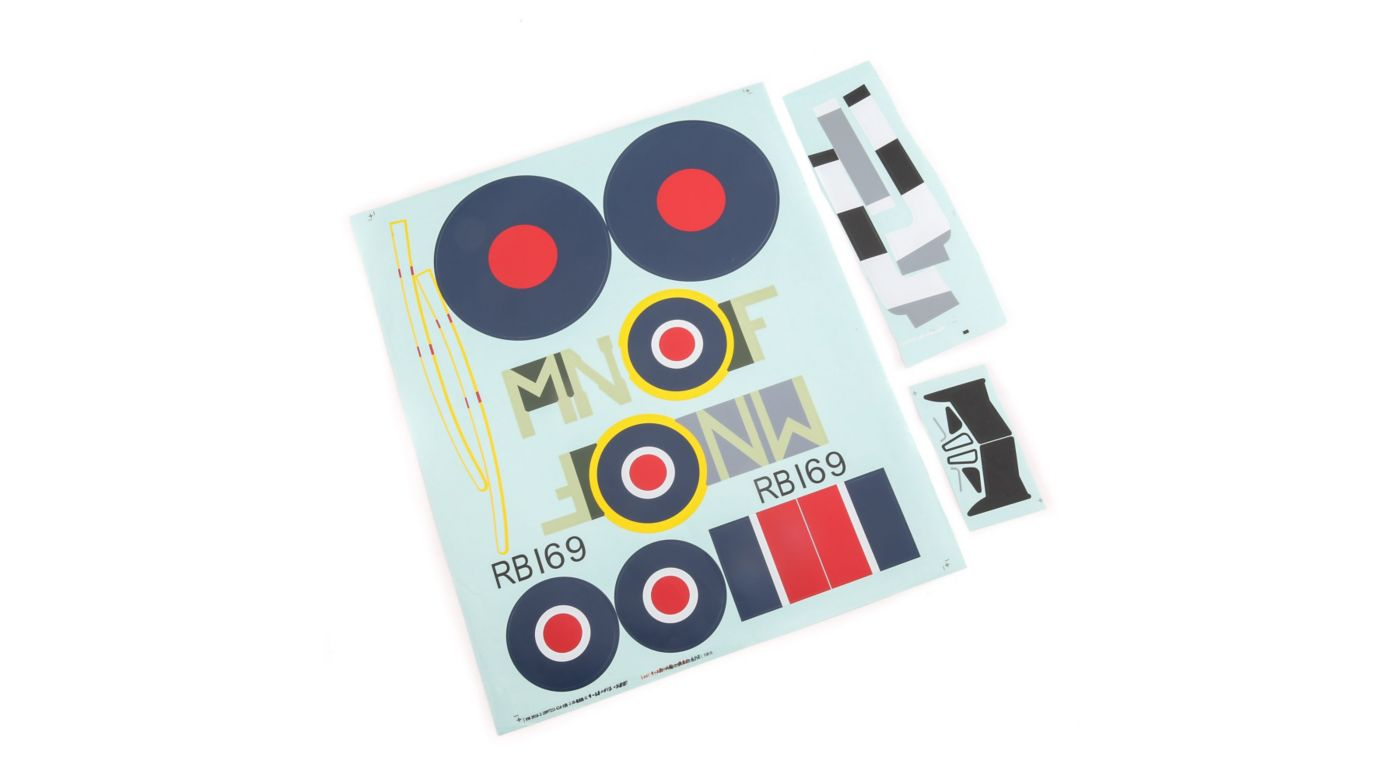 Image for Decal Sheet: Spitfire Mk XIV 1.2m from HorizonHobby