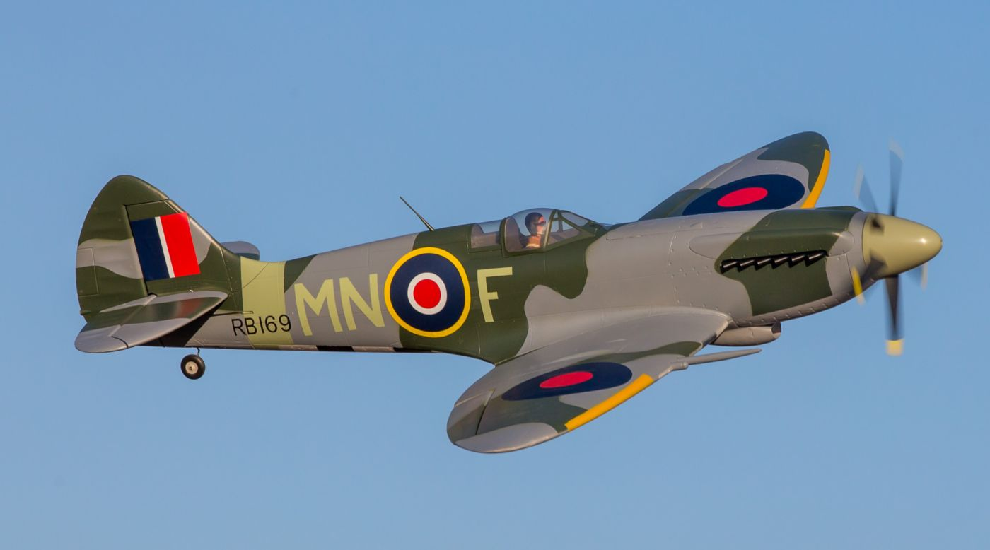 Image for Spitfire Mk XIV 1.2m BNF Basic with AS3X and SAFE Select from HorizonHobby