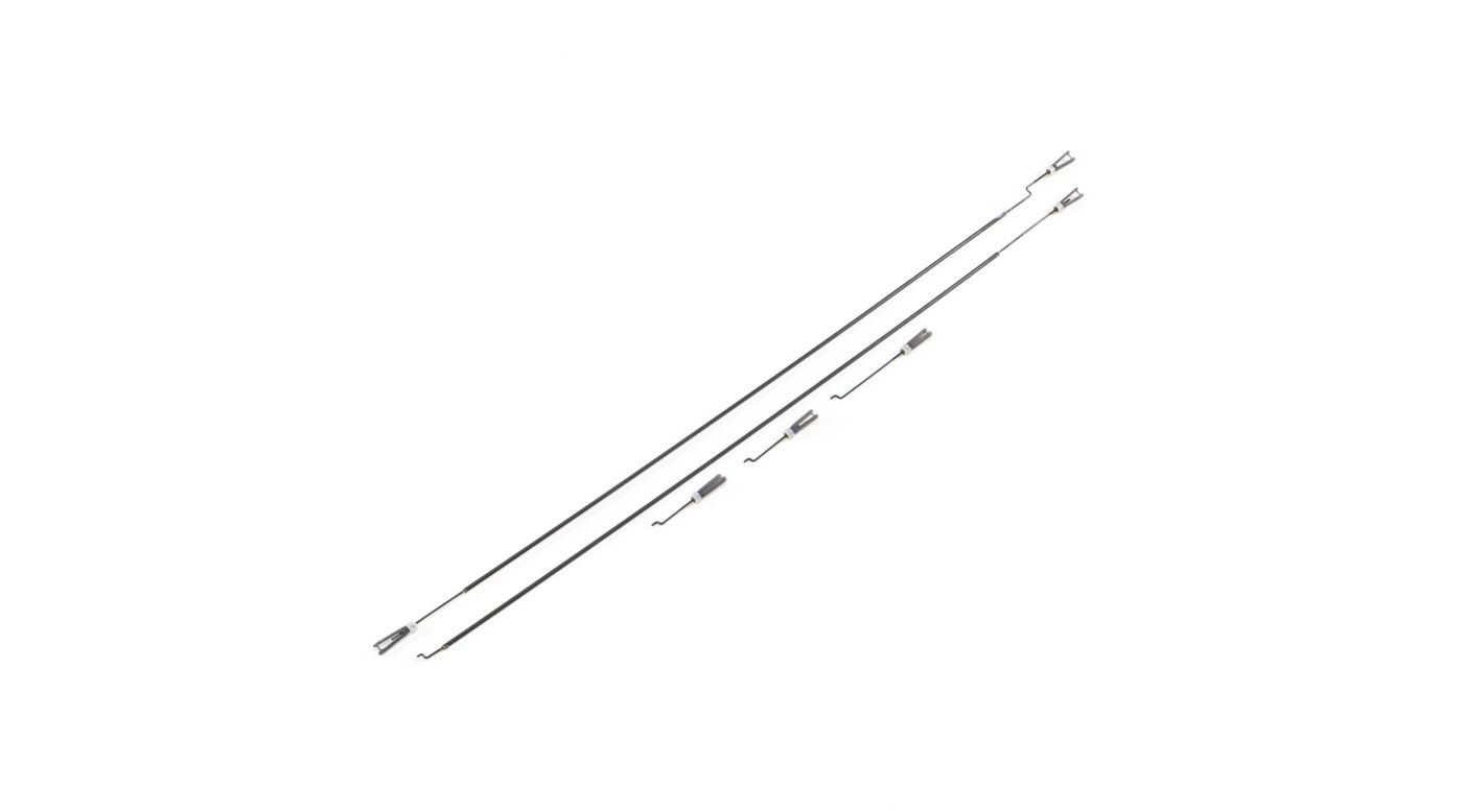 Image for Pushrod Set with Clevis: AT-6 1.5m from HorizonHobby