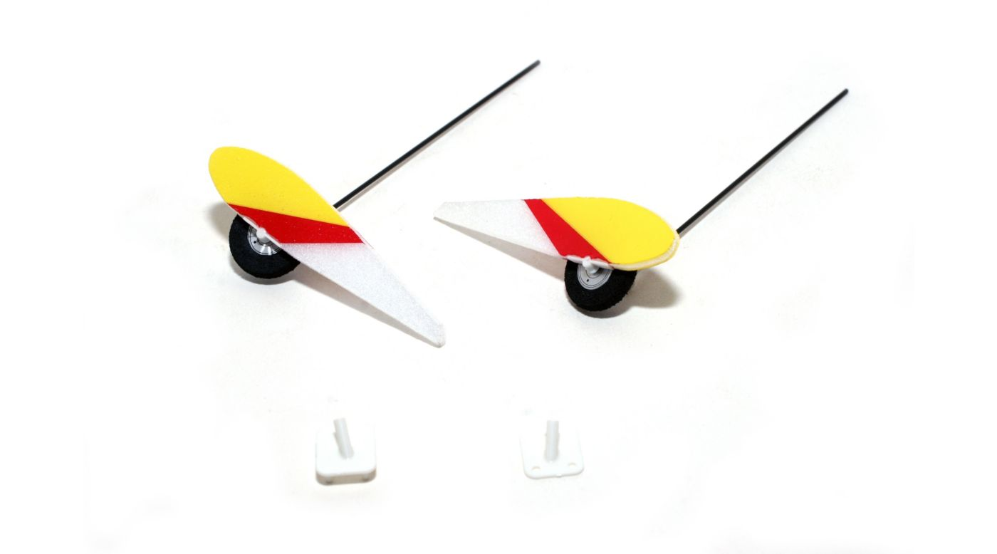 Image for Landing Gear Set with Mounts: Ultra-Micro 4-Site from HorizonHobby