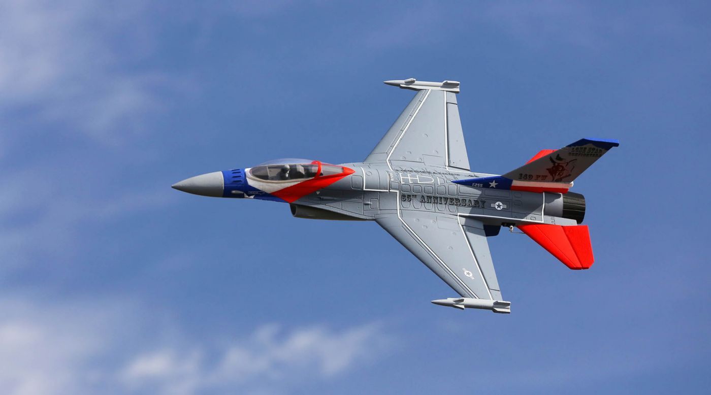 Image for F-16 Falcon 64mm EDF BNF Basic with AS3X and SAFE Select, 729mm from HorizonHobby