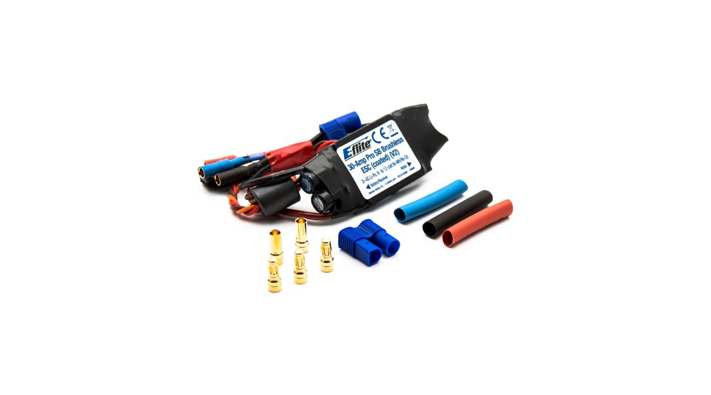 Image for 30-Amp Pro Switch-Mode BEC Brushless ESC, Coated, V2 from Horizon Hobby