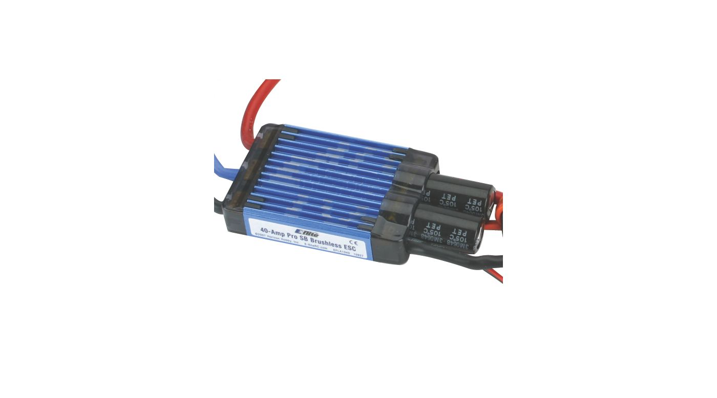 Image for 40-Amp Pro Switch-Mode BEC Brushless ESC from HorizonHobby