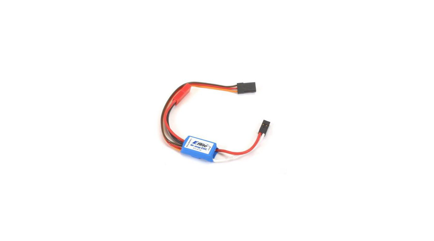 Image for 10-Amp Micro Brushed ESC from HorizonHobby