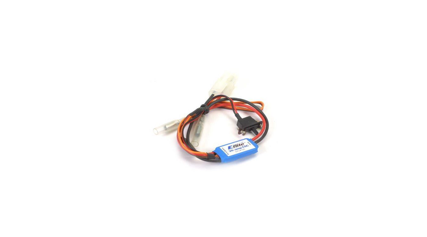 Image for 20-Amp Mini Brushed ESC with Brake from HorizonHobby