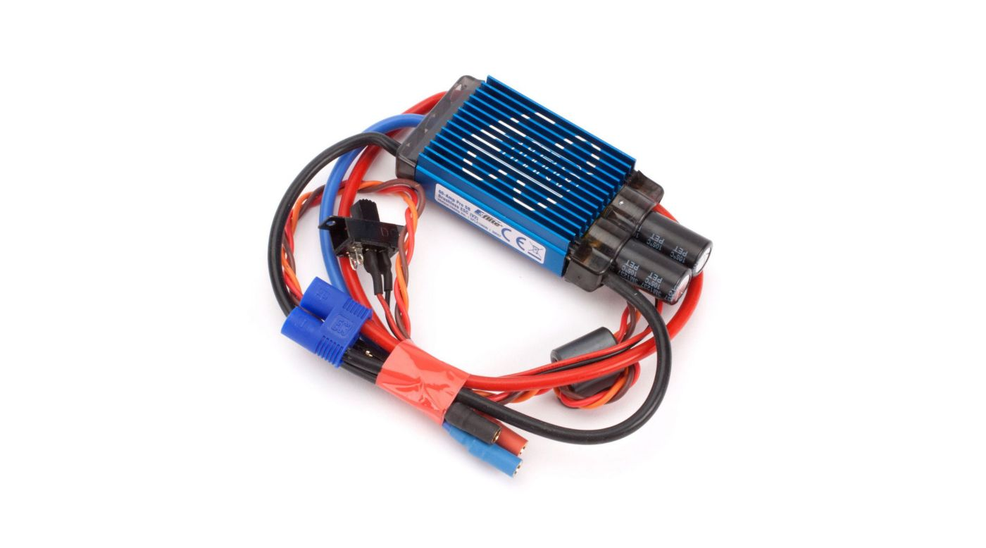 Image for 60-Amp Pro Switch-Mode BEC Brushless ESC (V2) from Horizon Hobby