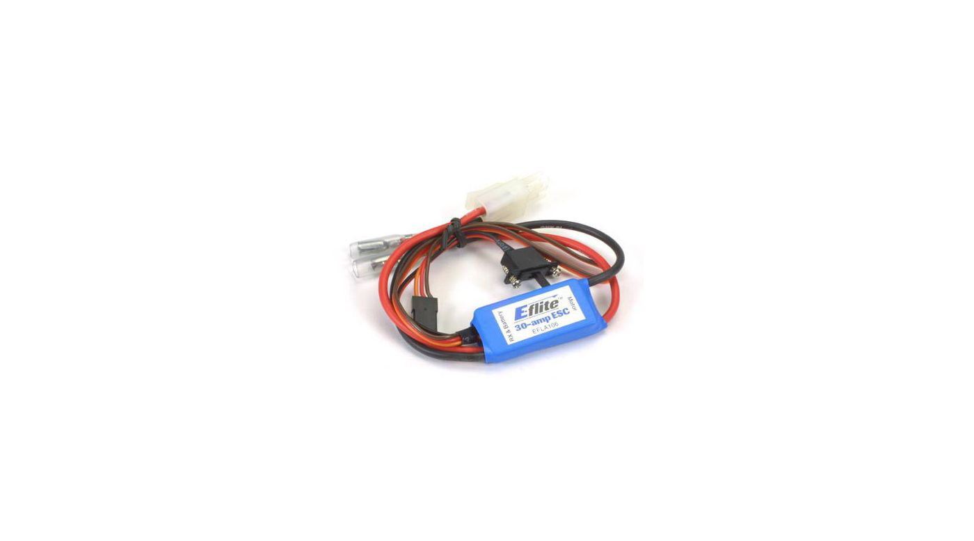 Image for 30-Amp Mini Brushed ESC with Brake from HorizonHobby