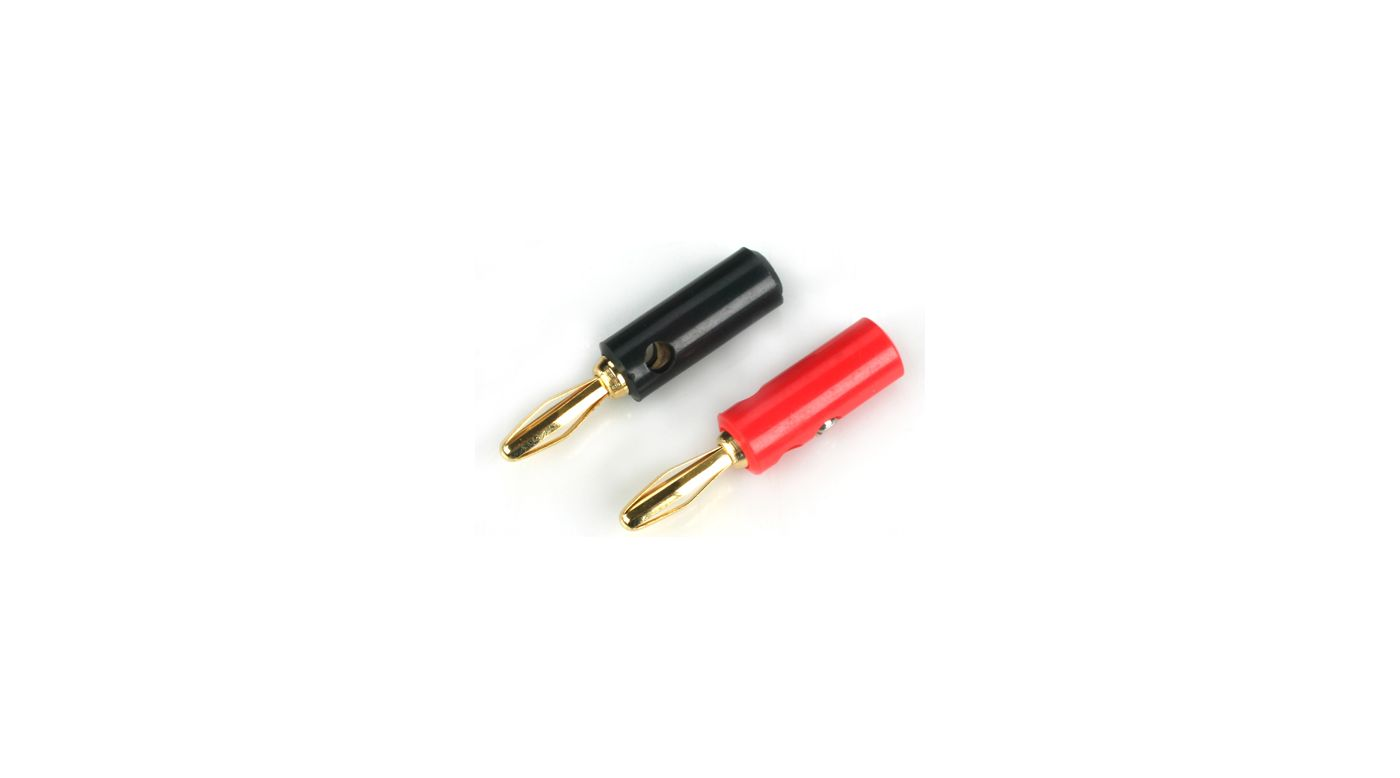 Image for Plug: Gold Banana Set with Screws from HorizonHobby