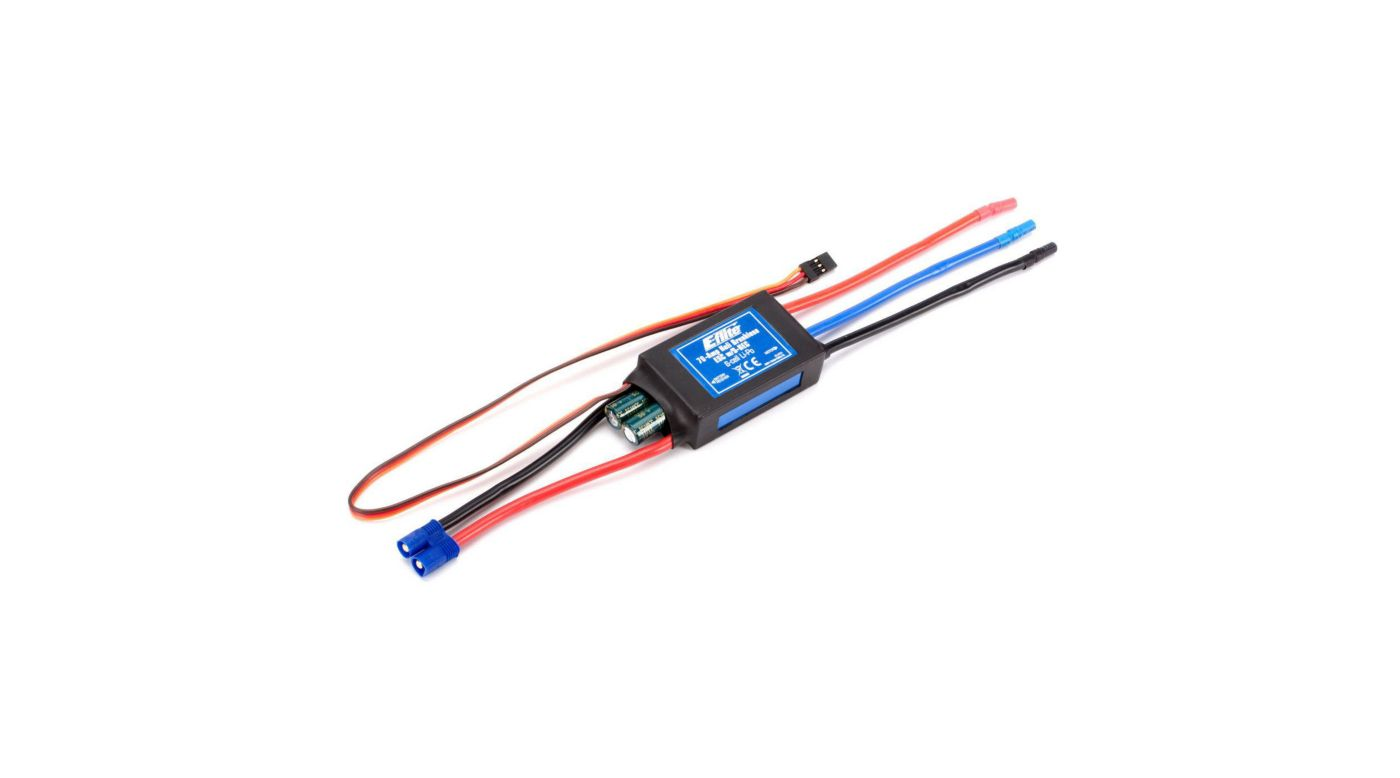 Image For 70 Amp Helicopter Brushless ESC B500 3D X From HorizonHobby
