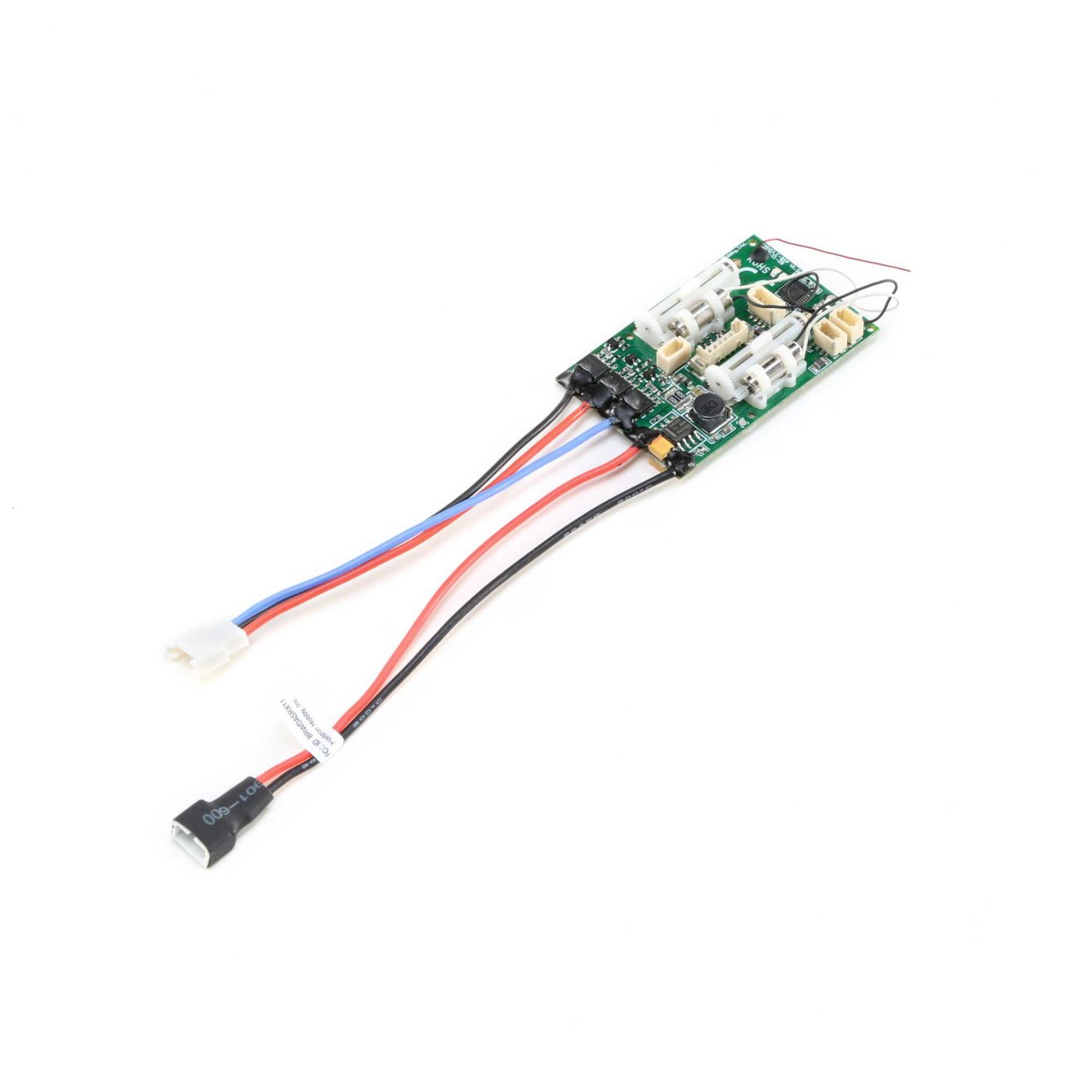 A6420BL DSMX 6-Channel Ultra Micro Receiver with AS3X, SAFE and Brushless ESC  (EFLA6420BL)