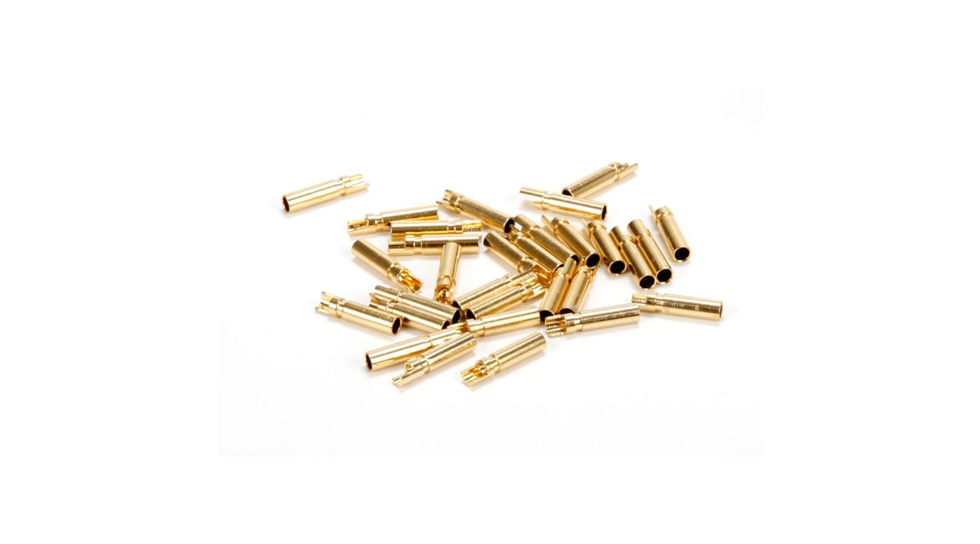 Image for Gold Bullet Connector, Female, 2mm (30) from HorizonHobby