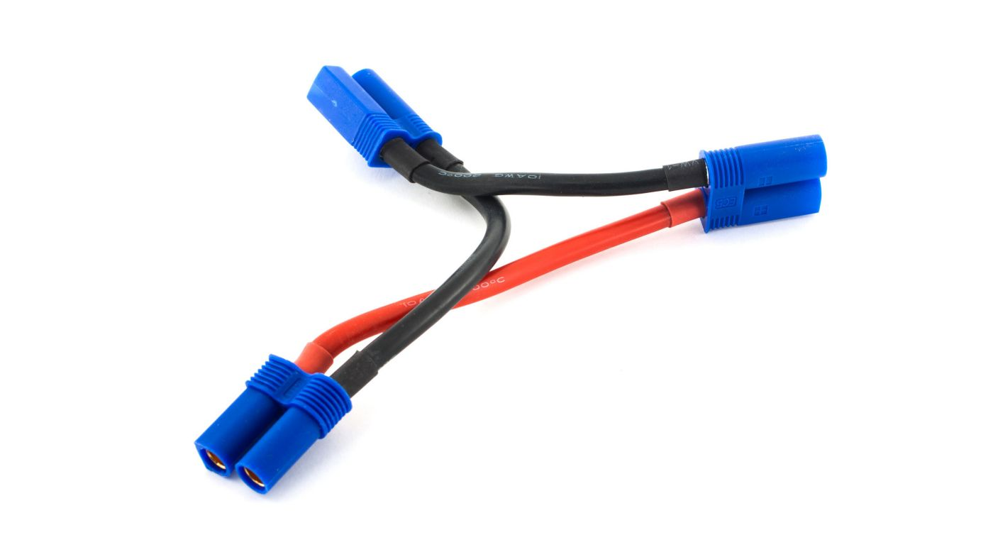 Image for Series Harness: EC5 Battery, 10 AWG from HorizonHobby