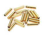 E-flite - Gold Bullet Connector, Female, 4mm (30)