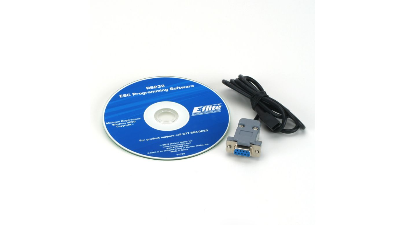 Image for RS232 Serial Link/Programming Software from HorizonHobby