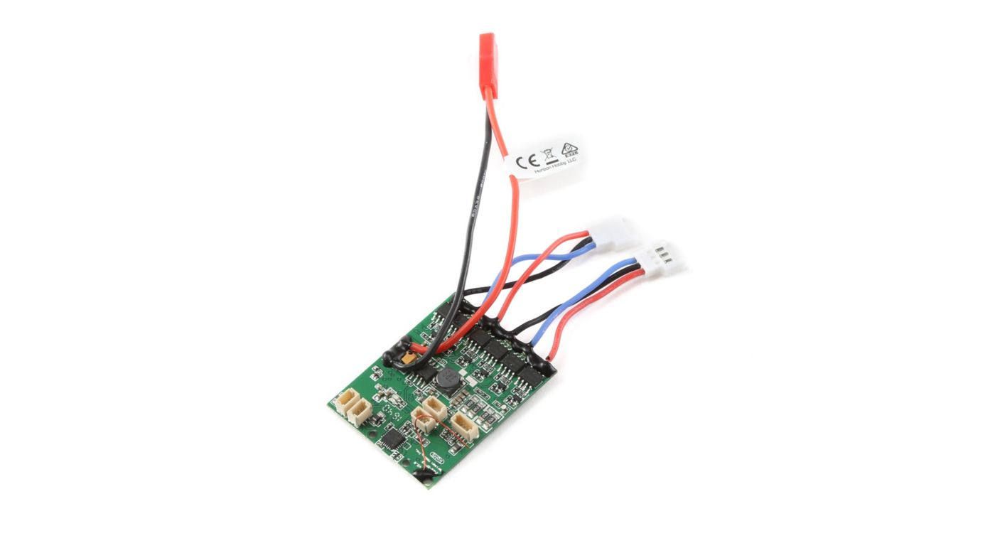 Image for AS6410NBLT DSMX 4-Channel AS3X Receiver with Twin Brushless ESC from HorizonHobby