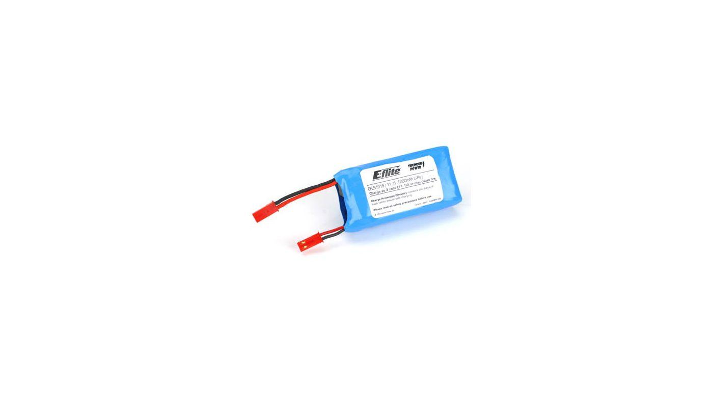 Image for 1200mAh 3S 11.1V LiPo Battery: JST from HorizonHobby