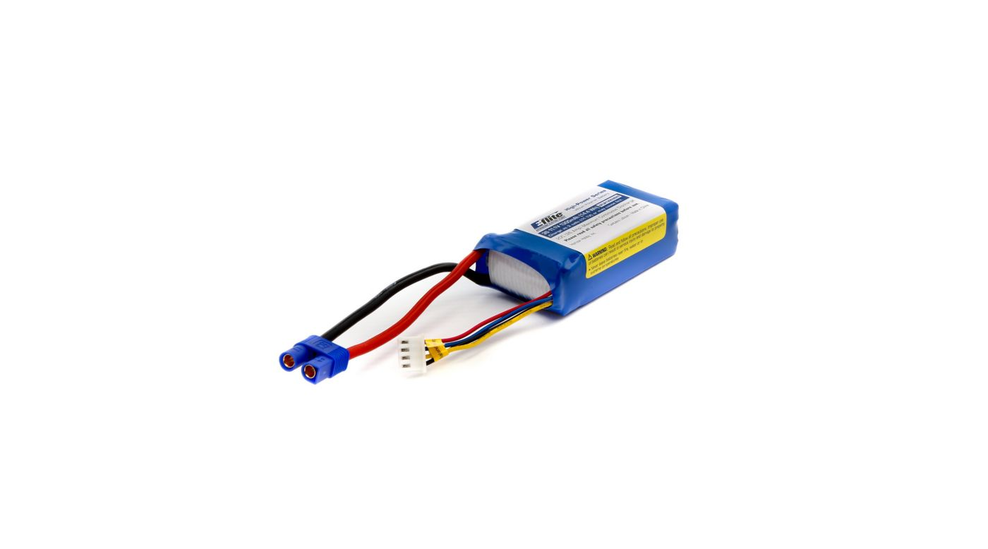 Image for 1300mAh 3S 11.1V 20C LiPo: EC3 from Horizon Hobby